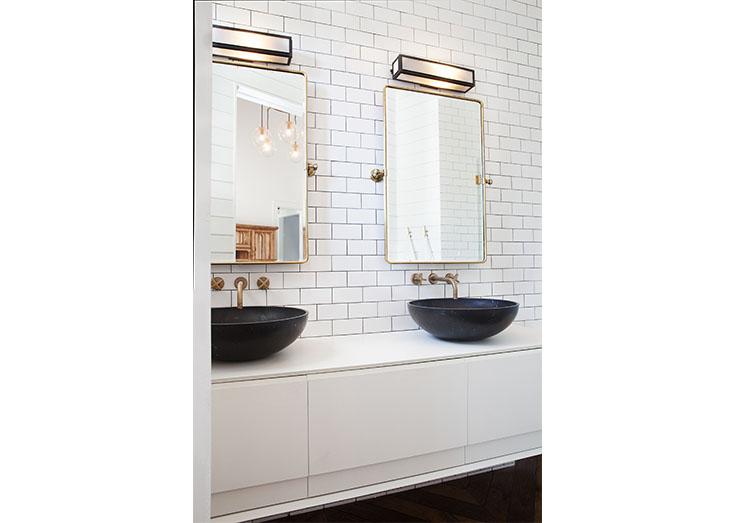 Black Modern Bathroom Design