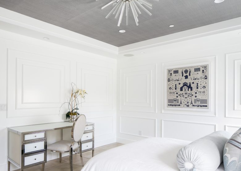 Queen Panel Bedroom Design